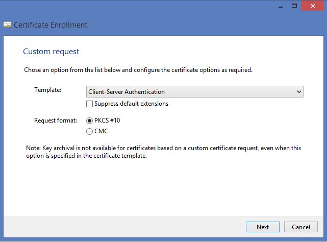 How to deploy remote desktop services 2012 r2 certificates using change the following properties on the subject tab subject name common name add your domain yadclub Images